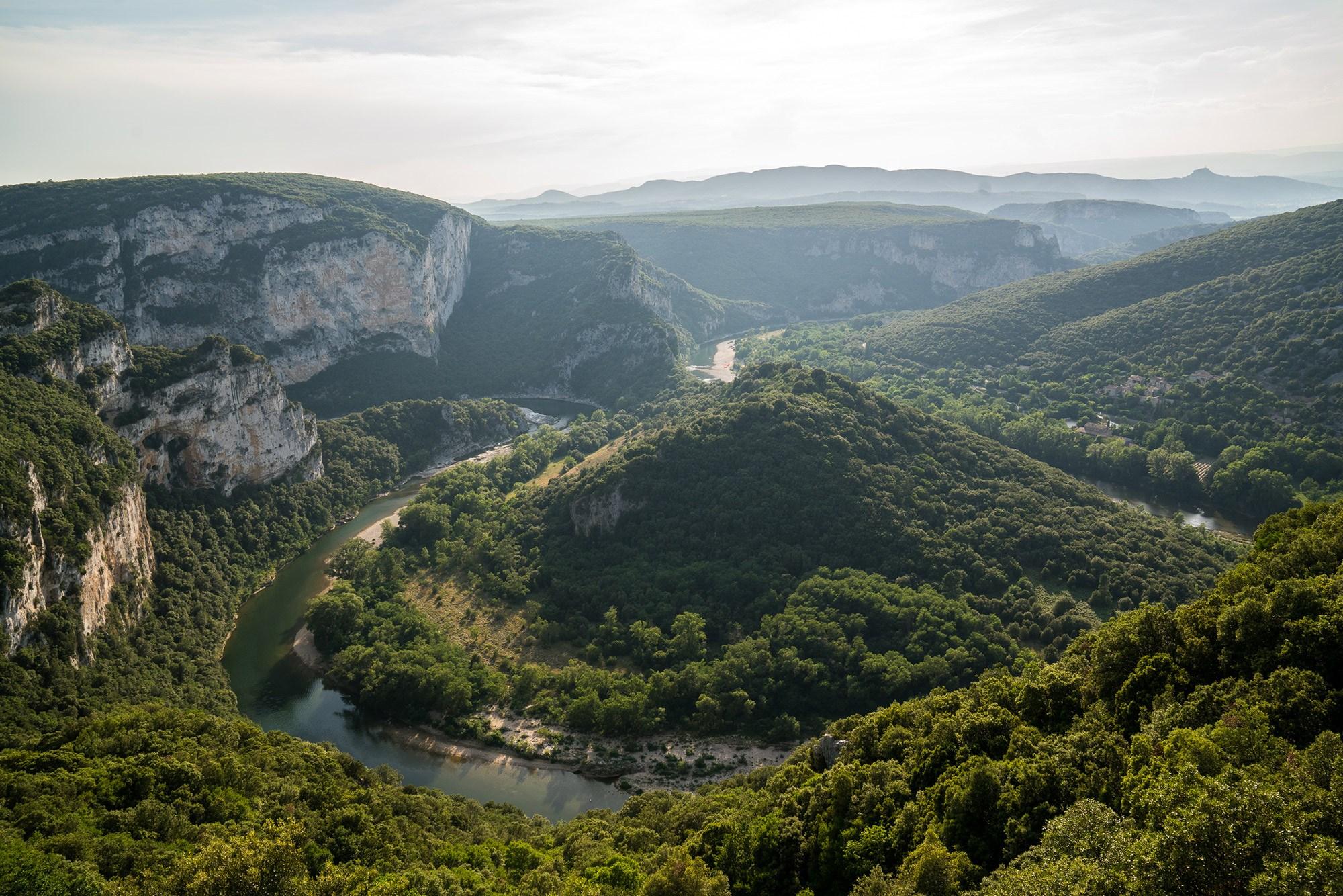 Camping Gorges De L Ard Che La Plage Fleurie Vallon