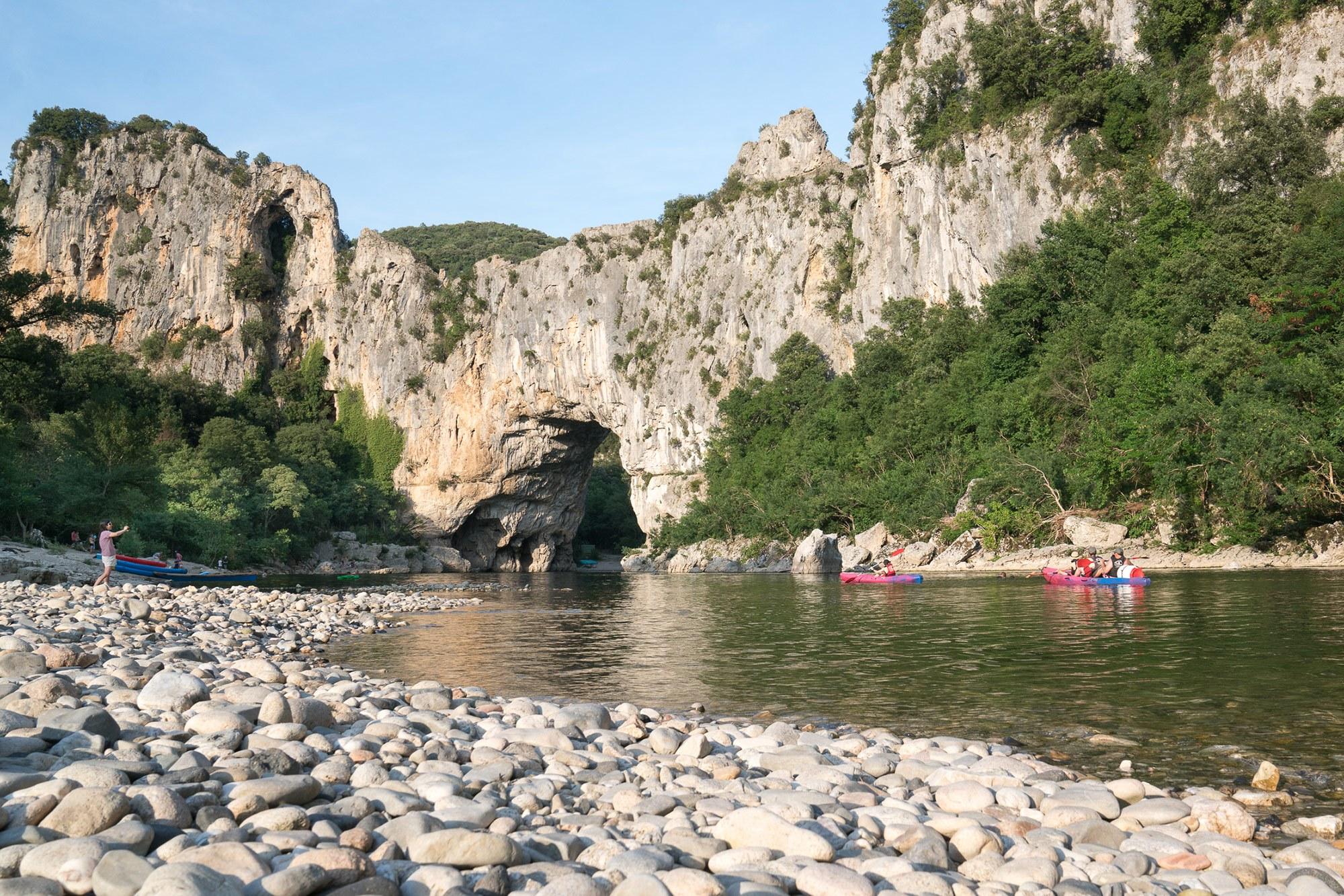 campingplatz vallon pont d'arc | la plage fleurie | 5-sterne in der